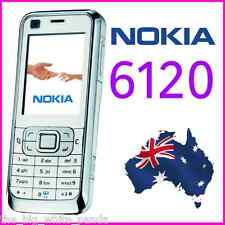 UNLOCKED NOKIA 6120 6120c CLASSIC - WHITE - NEXTG 3G BLUE TICK SIMPLE Phone