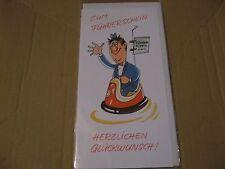 Glückwunschkarte zum Führerschein (21 x 10,5 cm)
