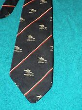 Arsenal Football Club Tie Canon Old Crest Navy Blue Classic