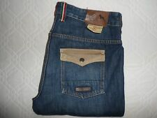 "VGC* W36 L34 ONE TRUE SAXON OTS Blue Denim Mens Jeans Waist 36"" L34 - FAST POST"