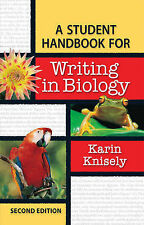 Student Handbook for Writing in Biology, Knisely, Karin, New Book