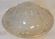 coupelle lustre 1940 type ezan -chandelier glass cup art deco