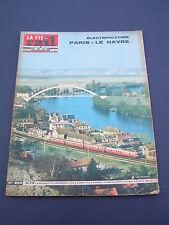 vie du rail 1963 894 PARIS LE HAVRE MIRVILLE BRéAUTé VERNEUIL PORT VILLEZ