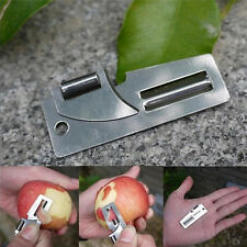 EDC Gear Double Peeler Stainless Steel 2 in 1 Pocket Multi Tool Useful Opener