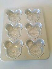 Vtg 1995 Wilton Disney MICKEY MOUSE Mini Treats Cake Cookie Jello PAN #2105-3600