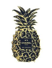 CHANEL NO 5 PERFUME PINEAPPLE ART IMAGE A4 Poster Gloss Print Laminated