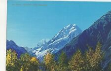Mount Cook South Island New Zealand 1971 Postcard 449a