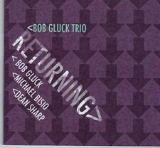 (DX436) Bob Gluck Trio, Returning - 2011 CD