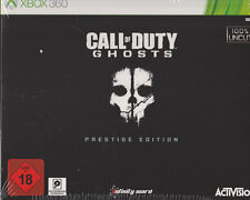 Call of Duty: Ghosts - Prestige Edition,UNCUT,  Steelbook, XBOX360, NEU & OVP