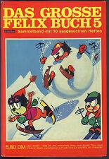 Das grosse Felix-Buch Sammelband Nr.5 von 1967 mit Bessy-Poster + Fernsehbilder