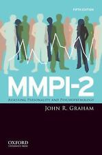 MMPI-2 : Assessing Personality and Psychopathology by John R. Graham (2011,...