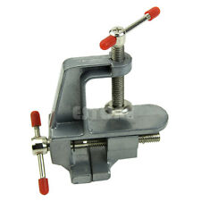 "New 3.5"" Aluminum Mini Small Jewelers Hobby Clamp On Table Bench Vise Tool Vice"