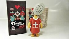 WHITE BLOOD CELL vinyl figure - Organ Donors by David FOOX & ESC