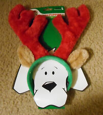 Small Reindeer Head Band, Costume head band, SM, Sm Dog Christmas Hat