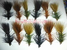 Woolly Bugger Assortment Bead Head and Flash  size 6 (12 ct)