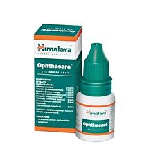 3 x Himalaya Herbals Ophthacare Eye Drops 10ml (3 Pcs)