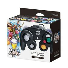 Official Black Nintendo Super Smash Bros Classic Gamecube Controller Gamepad