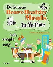 Delicious Heart-Healthy Meals In No Time-ExLibrary