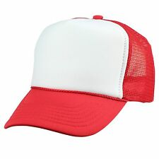 DALIX Handy Manny Costume Hat Red White Cartoon Kids Youth Trucker Free Shipping