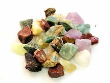 Brazilian 17 Stones Rough Assorted Mix 2 lb Tumbling Cabbing Zentron™ Crystals