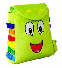 Autism Sensory Buckles Bag Toy Kids Play Special Needs Early Motor Skills New