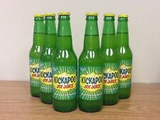 Kickapoo Joy Juice Sixpack Glass Bottle Soda FREE SHIPPING