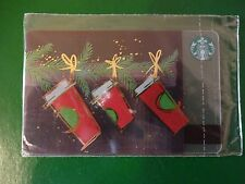NEW CARD CUPS!  RUSSIA, STARBUCKS RUSSIAN CHRISTMAS CARDS,2016,SEALED