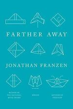 Farther Away : Essays by Jonathan Franzen HC/DJ 1ed VG++ Fast Free Shipping