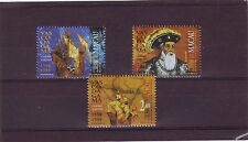 MACAO/MACAU - SG1040-1042 MNH 1998 500th ANNIV VOYAGE TO INDIA - WRONG DATE