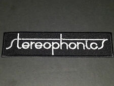 PUNK ROCK METAL MUSIC SEW/IRON ON PATCH:- STEREOPHONICS