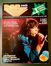 SPECIALE ROLLING STONES Popster Rock n.1 1976  ITALIAN POSTER MAGAZINE