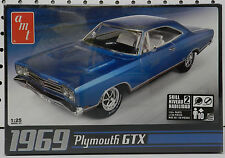 1969 PLYMOUTH 69 GTX ROADRUNNER MOPAR HEART AMT MODEL KIT