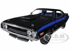 1970 DODGE CHALLENGER T/A 340 SIX PACK 75th MOPAR ANNIVERSARY BLACK 1/24 M2