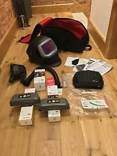SPEEDGLAS 9100xxi Fx WELDING HELMET ,  NEW 3M  ADFLO, 2 HD LITHIUM BATTERYS