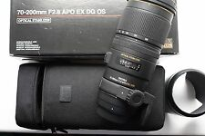 Sigma EX DG OS HSM 70-200mm F/2.8 Lens For Nikon