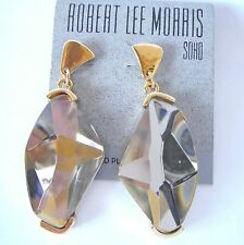 ROBERT LEE MORRIS GOLD EARRINGS