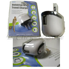 Universal USB AC Wall Travel Charger Portable Power Adapter LED Power Indicator