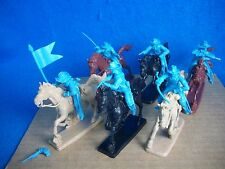Paragon Western Cavalry Toy Soldiers set #3 (60mm) 6 Mounted w/ 6 horses