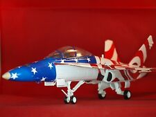 F-18D Hornet, Stars and Stripes, Limited Edition Franklin Mint Aircraft 1:48