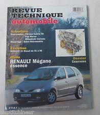 revue technique automobile RTA 593 1997 Renault mégane essence