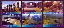 UN - NY . 2007 South America Heritage . Booklet Singles (6) .  Mint Never Hinged