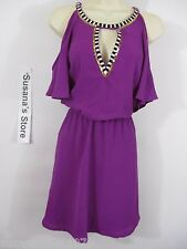 NWT BEBE LYLA FLUTTER SLEEVE DRESS SIZE M Turn heads in, gorgeous bebe dress!