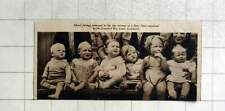 1936 Mixed Feelings At Baby Show Greenford Boy Scouts Association