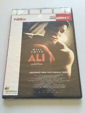 ALI. WILL SMITH - CINE PUBLICO II - DVD - 150 MIN - SLIMCASE - NEW SEALED NUEVA