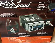 RetroSound Model One C Chrome Radio Face