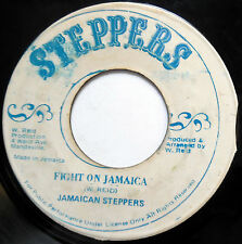 JAMAICAN STEPPERS 45 Fight On Jamaica / Version REGGAE Steppers c1712