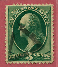Late-19th C. US Stamp w/ SON TRIANGLE Fancy Cancel ~ Free Shipping...b16