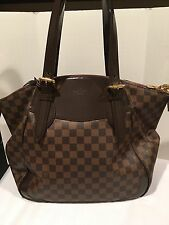 LOUIS VUITTON Damier Ebene Verona Large GM Shoulder Tote Shoulder Bag