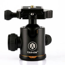 TARION Tripod Panoramic Ball Head + Quick Release Plate for DSLR Canon Nikon New