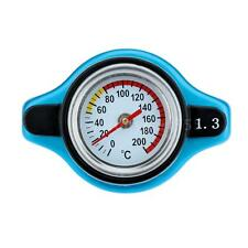 Radiator Cap Cover Water Temp Temperature Gauge 0.9 / 1.1 / 1.3BAR blue New K0W1